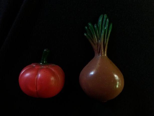 Магниты на холодильник обощи помидор лук ссср