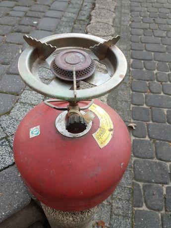 Butla gazowa turystyczna 2kg z palnikiem