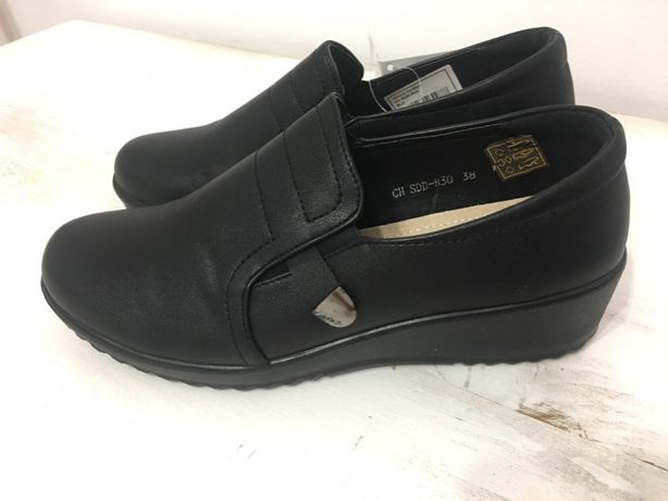 Buty damskie T.Sokolski nowe czarne profilowana wkładka skórzana r38
