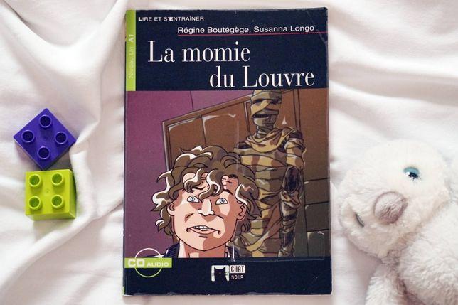 """""""La momie du Louvre"""" książka do nauki j. francuskiego"""