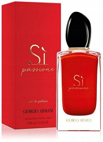 Perfumy Giorgio ARMANI Si Passione  100ml Wyprzedaż