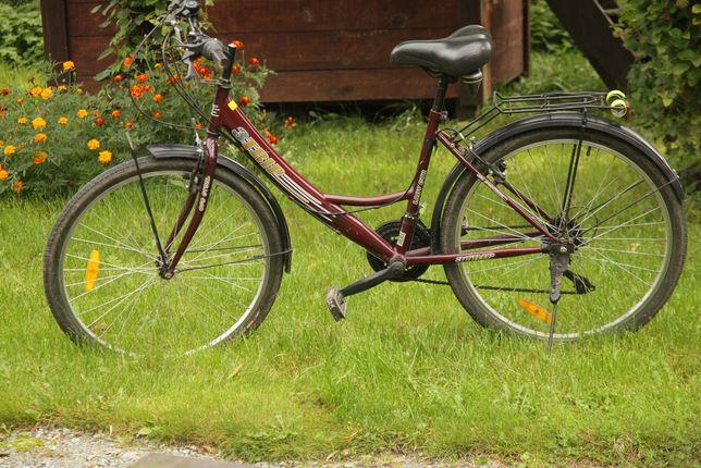 rower damski damka 26 cali osprzet shimano 100 %sprawny