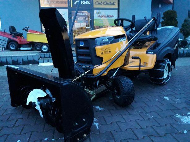 Traktor kosiarka samojezdna z odśnieżarką Cub Cadet XT3 Kawasaki 23KM