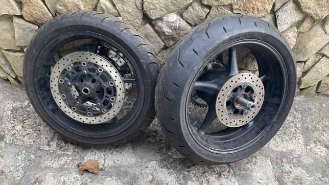 Rodas r6 2008 com pneus