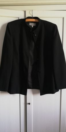 Martynarka żakiet czarny roz. 40 L Marks & Spencer