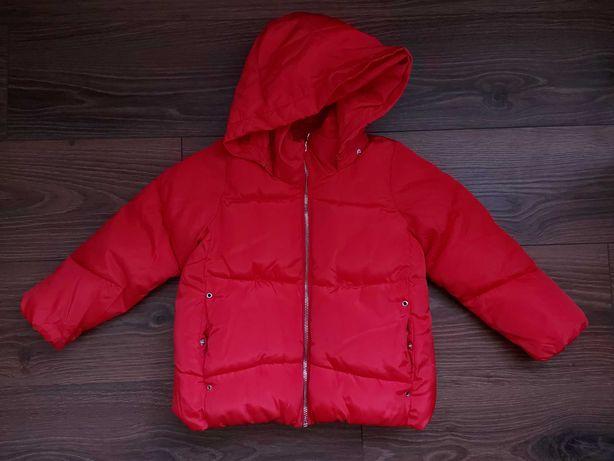 Kurtka zimowa Zara Kids rozmiar 116, raz ubrana.
