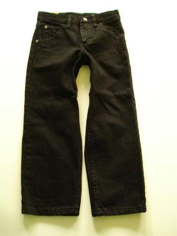 WRANGLER extra SPODNIE jeansy CZARNE nowe z USA - r. 116 cm