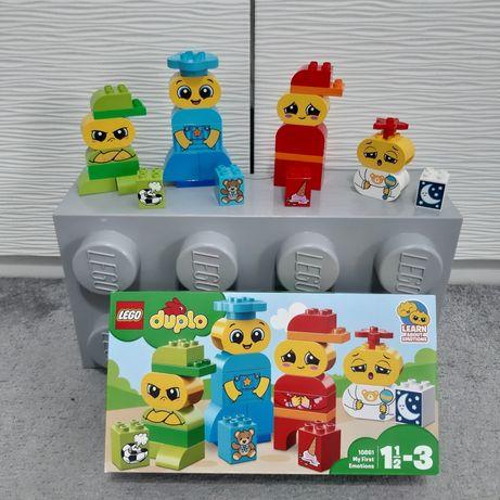 Lego Duplo Emotions postacie Nowe prezent pudełko