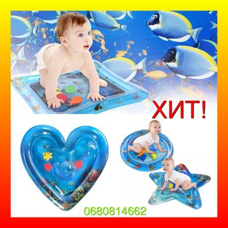 детские коврики для обучения детский Коврик игровой с водой Lindo