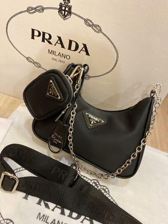Женская сумка Prada прада