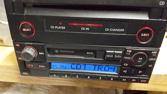 Radio vw beta