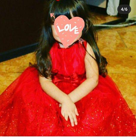 Красивейшее платье на девочку 4т