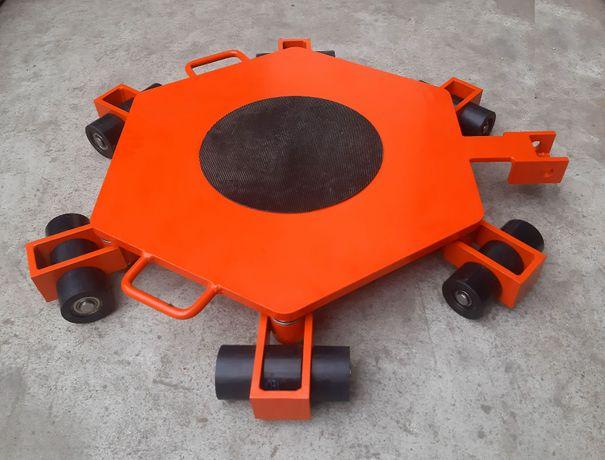 Wózek rotacyjny do transportu maszyn Wr6/18 transportowy Wózki