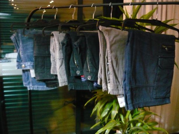 Lote 7 pares de calções homem - Várias marcas - Usados bom estado