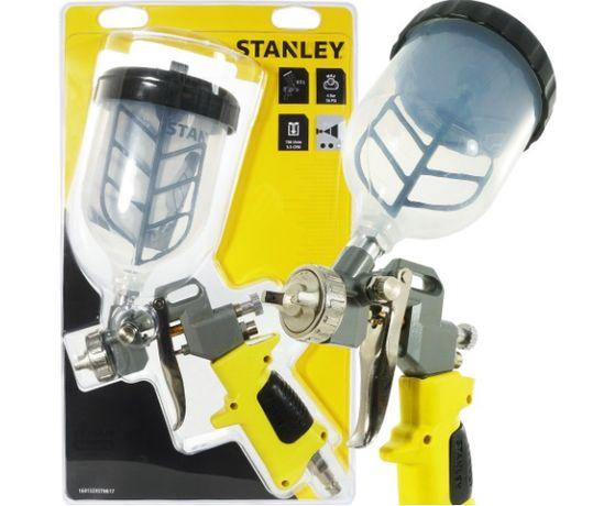 PISTOLET LAKIERNICZY Z MIESZALNIKIEM dysza 1.5mm górny zbiorni Stanley