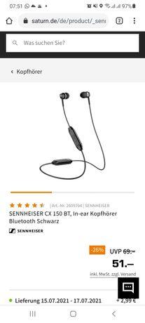 Sluchawki CX 150BT Wireless Sennheiser
