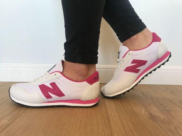 New Balance 410. Rozmiar 36. Białe - Różowe. PROMOCJA