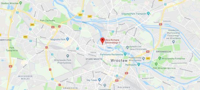 Garaż Wrocław Kępa Mieszczańska, ul. Dmowskiego 3