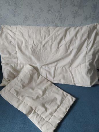 Набор детской постели бортики одеяла подушки простыни на резинке