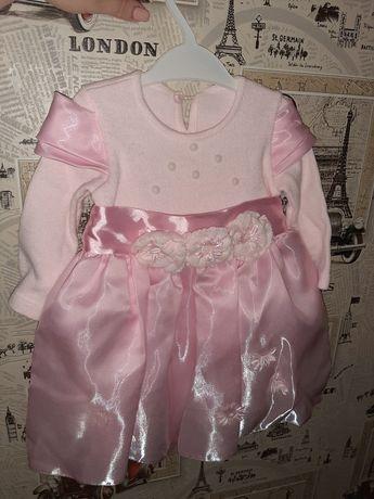 Платье нарядное для девочки 1-2 года