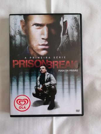 Prison Break - DVD oferta Olá - início primeira série