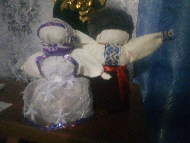 цена зерновушки и богача за пару 60 грн. куклы мотанки и кубышки