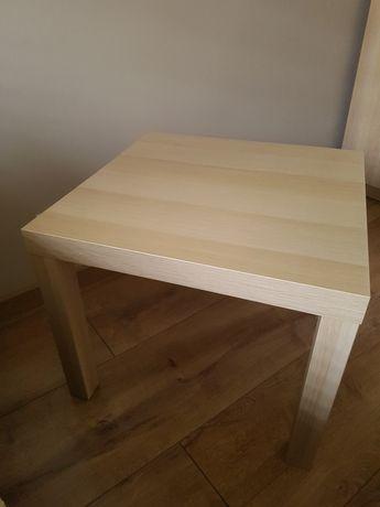 Stolik kawowy jak nowy stan idealny wym.55x55 wys.45 cm Polecam