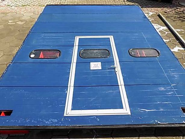Brama garażowa panelowa segmentowa  332x448cm