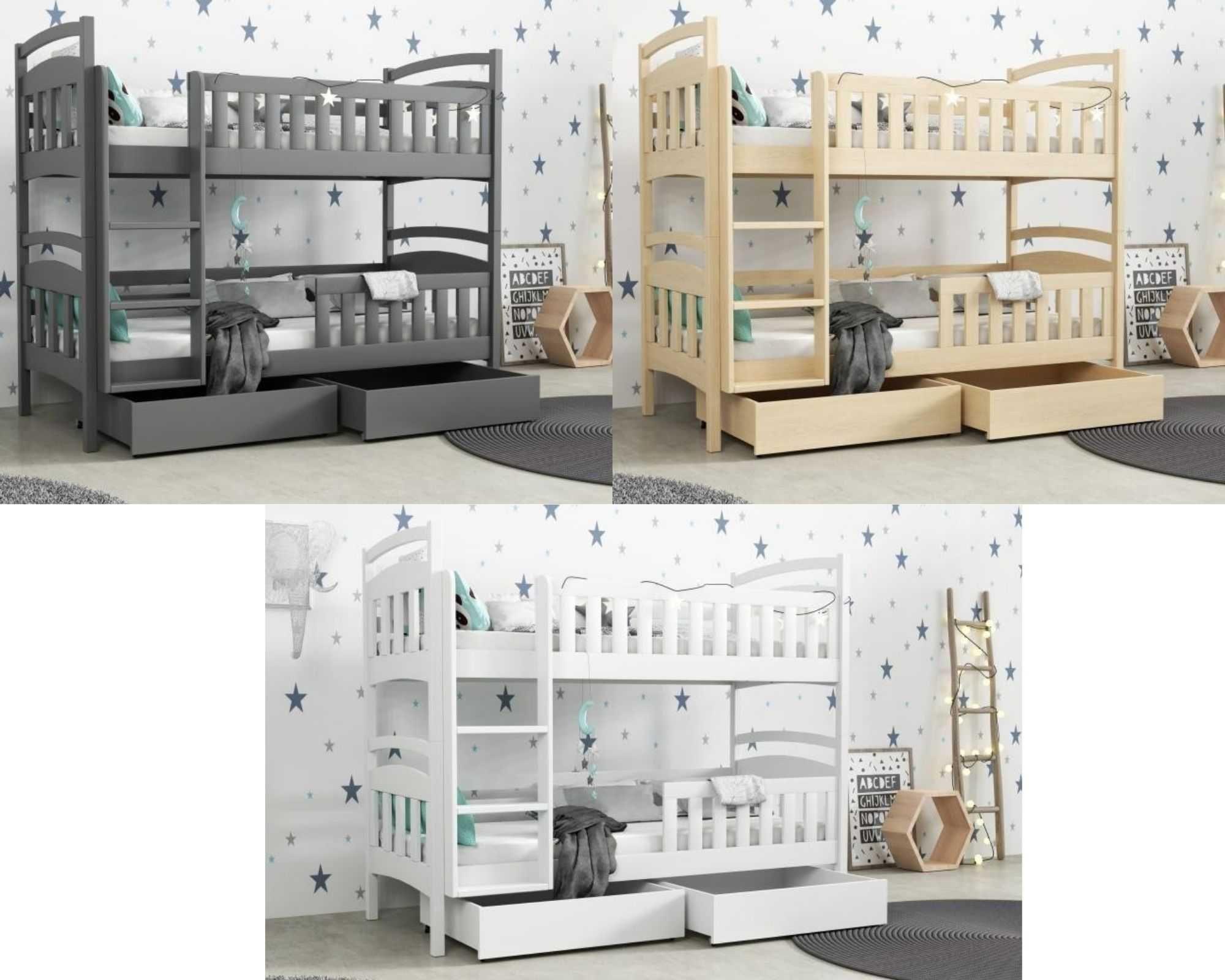 Piętrowe dwu osobowe łóżko dla 2 dzieci/młodzieży 190x80! dostawa!