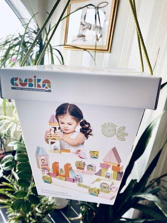 Конструктор Городок для девочек Cubika