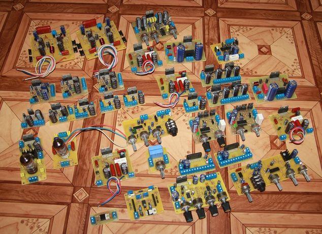 Усилители, Підсилювачі, УНЧ, Hi-Fi, платы, модули