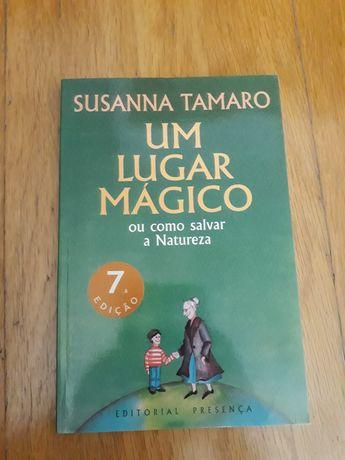 """Livro """"Um lugar mágico"""""""