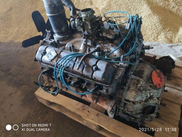 Продам двигатель газ- 53, с коробкой.