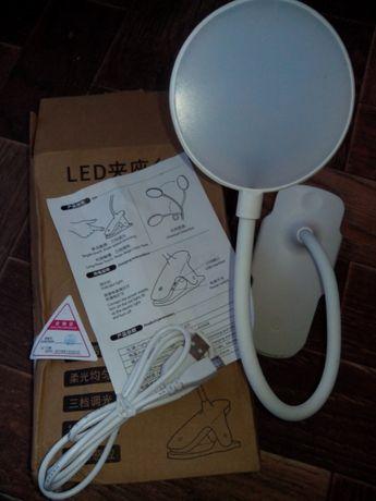 Настольная LED беспроводная перезаряжаемая сенсорная лампа