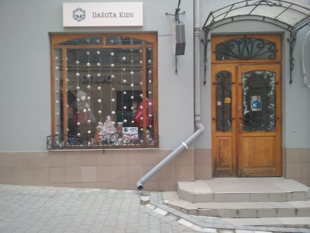 Оренда приміщення під під комерцію в центрі Дрогобича