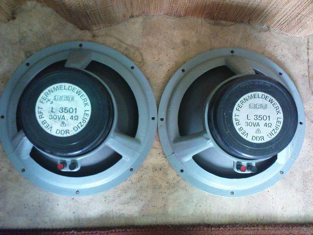 dwa głośniki RFT L3501 12'' sprzedam-zamienie