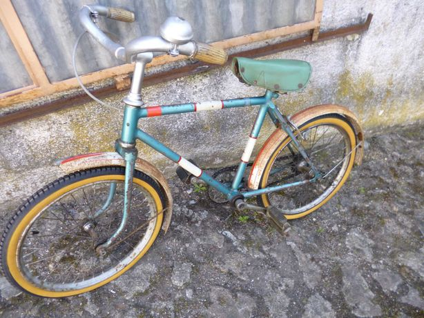 Bicicleta mini pasteleira
