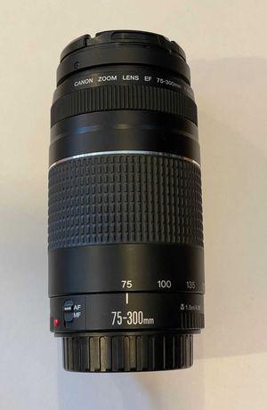 Obiektyw Canon 75-300mm 1:4-5.6 EF.::DELTA::.