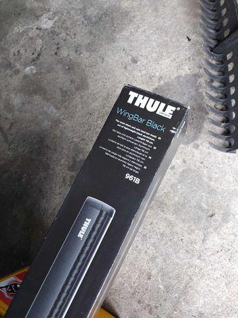 Thule belki dachowe 961b wingbar black 118 cm