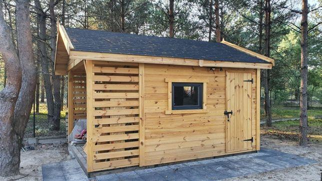 Domek narzędziowy domki narzędziowe drewutnia drewutnie altana ogród