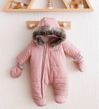 Продам детский зимний комбез для девочки