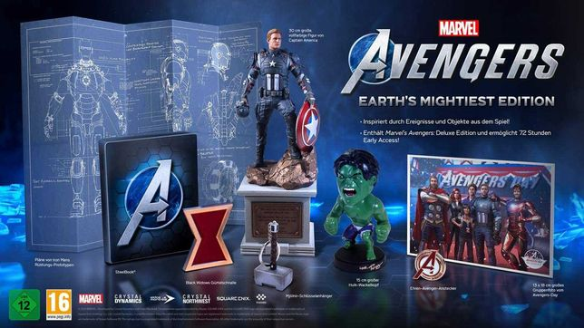 Marvel's Avengers: Earth's Mightiest Edition - nowa ed. kol. PS4 / PS5