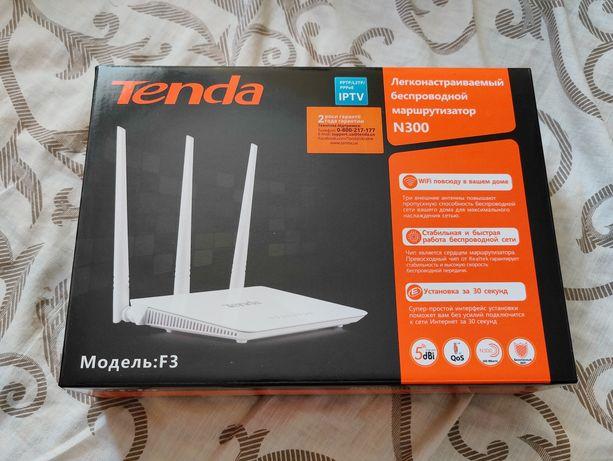 Роутер Tenda F3 WiFi 2.4 Ghz маршрутизатор Тенда Ф3