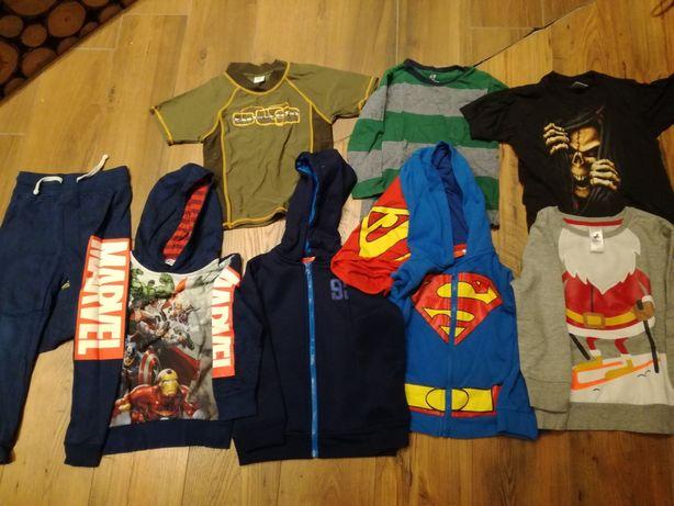 Super zestaw markowych ubrań dla chłopca 110-120