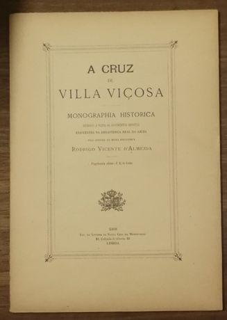 a cruz de vila viçosa, rodrigo vicente d`almeida, 1908