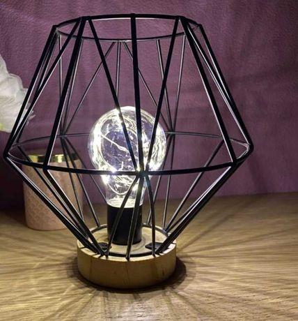 Lampka stolowa, grundig, led, baterie