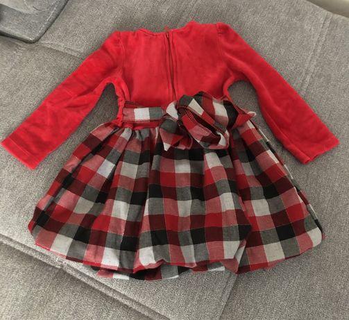 Śliczna sukieneczka dla dziewczynki