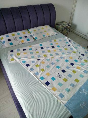 Семейный комплект постельного белья 140*200см, хлопок/бязь