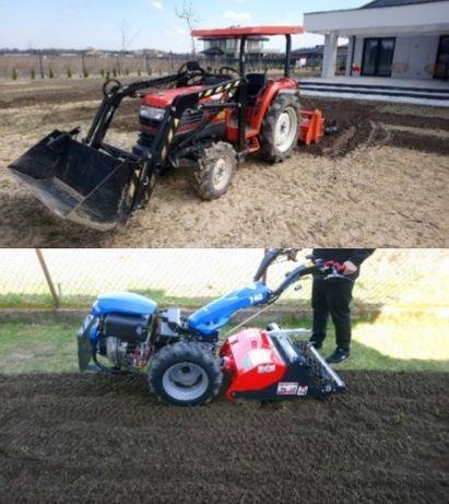 glebogryzarka separacyjna - przygotowanie pod trawnik