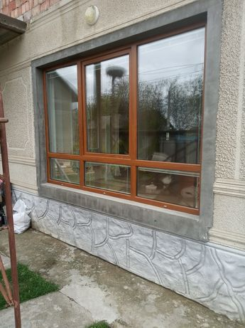 Вікно балконне металопластекове